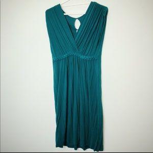 Gilli turquoise sleeveless dress